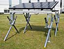 太陽光発電用FXT鋼管基礎